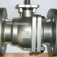 Ball Valve Stainless SS 316 Ansi 150 Flange 2 inch / DN 50