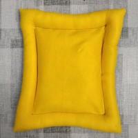 Kasur / Alas / Bantal Kucing Bantal Anjing Pet Bed Ukuran 40x50x5 cm - Kuning
