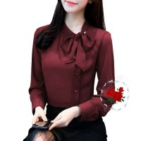 w3 - bl baju blouse cewek wanita kerja bisnis kantoran formal