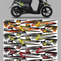 striping/lis sticker variasi mio sporty Decal full body