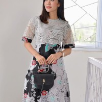 Jual Baju Batik Kombinasi Brokat Murah Harga Terbaru 2021