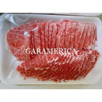 Daging Sapi Premium US WAGYU Sliced Beef Slice YAKINIKU ROSU
