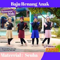 Baju Renang Anak Perempuan | Baju Renang anak Muslim | Rocella Karina