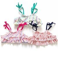 Baju renang bikini atasan Anak / bayi perempuan branded (oldvy stripe)