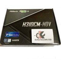 ASRock H310CM-HDV LGA1151, H310, DDR4, USB3.1, SATA3