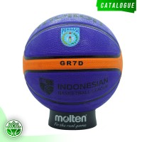Bola Basket Molten GR7D Blue ( Outdoor )