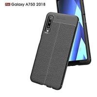 Samsung Galaxy A7 2018 Auto Focus Leather Slim Fit Soft Case