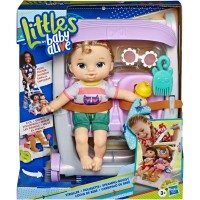 Littles Baby Alive STROLLER Kick and Go Blonde