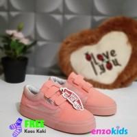 Sepatu Anak Perempuan Vans Oldskool Pink Size 21 35