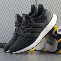 Sepatu Adidas Ultraboost 3.0 Black White - Premium Import