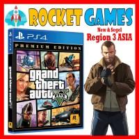 PS4 GTA 5 / GTA V Premium Online Edition Reg 3