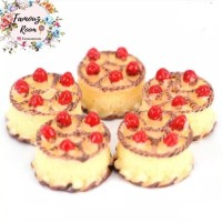 Miniatur Kue Tart - Miniatur Cake - Aksesoris Barbie - DIY Crafts