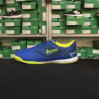 Sepatu Futsal Merk Legas / League Series - Tyra LA Blue Volt