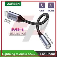 UGREEN 30756 LIGHTNING IPHONE MFI JACK AUDIO 3.5MM ADAPTER CONVERTER