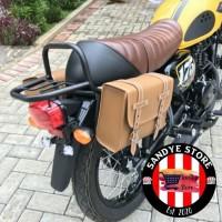 Back Rack/Rak Belakang/Tahanan Side Bag Kawasaki W175+Side Bag (1pcs)