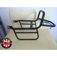 Back Rack/Rak Belakang/Tahanan Side Bag Motor W175 - Coating Hitam