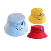 Topi Bucket Korea Dino Karakter Anak Balita