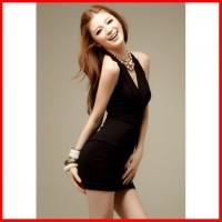 s-xxl mini dress lingerie hitam clubwear seksi   clubbing baju