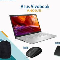 ASUS A409JB I5 1035G1 8GB HDD + SSD VGA NVIDIA 14 FHD WIN10
