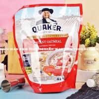 Quaker Instant Oatmeal 1200gr / Oat Meal Instan 1,2kg