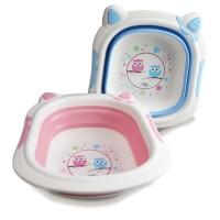 Baby Safe BT003 Foldable Wash Basin / Perlengkapan Mandi Bayi / Bak Wa
