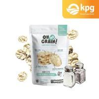 Oh Ma Grain! - Popped Rice Crackers Salt & Black Pepper - 50gr