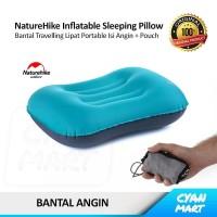 Bantal Kepala Angin NatureHike Pillow Travel Portable Inflatable Air