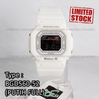 PALING LAKU !!! Baby-G Shock BGD-560 Putih White jam tangan digital
