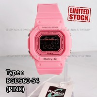 SALE MURAH !!! Baby-G Shock BGD-560 Segi Pink Jam tangan wanita & anak