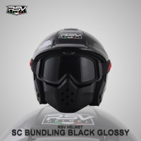 RSV bundling Black Glossy With GoogleMask