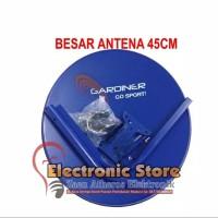 Paket Antena Parabola Dish Mini Ninmedia Ku Band TV gratis Bulanan
