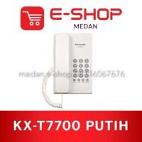 Panasonic KX-T7700 - Pesawat Telepon Rumah Kantor Single Line (PUTIH)