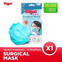 Bagus Masker Sehari-hari - 1 Pack Isi 10 pcs