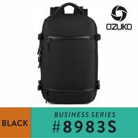 Ozuko Travel Backpack #8983S - Black