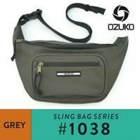 Ozuko Waistbag #1038 - Grey