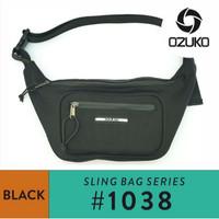 Tas waistbag OZUKO #1038 - Black