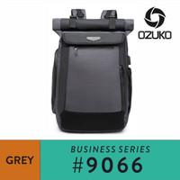 Ozuko Backpack #9066 - Grey
