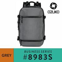 Ozuko Travel Backpack #8983S - Grey