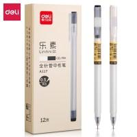 Deli Gel Pen Pulpen Gel warna Hitam 0.5mm A117