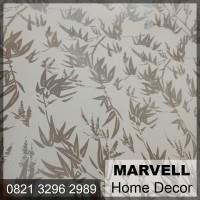Stiker Kaca Sanblast Dekorasi Jendela Motif Bambu 9512 High Quality