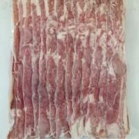 Smoked Pork Bacon / Bacon Babi Asap - 500Gram