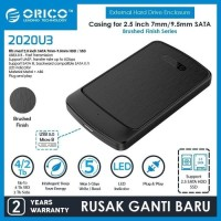 Orico 2020U3 Case External Hardisk/SSD 2.5 Sata Enclosure