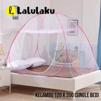 LLK Kelambu Tempat Tidur Anti Nyamuk Kanopi 120 x 200
