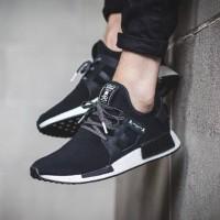 Sepatu Adidas NMD XR1 Mastermind Black White - Premium Import