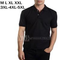 VM Polo Shirt JUMBO Kaos Polos Tangan Pendek