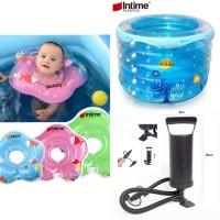 Paket Kolam Baby Spa/ Intime Baby Spa/ Kolam Renang Bayi Bulat 106 cm