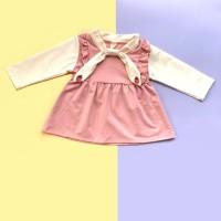 Baju Dress Anak Perempuan Import Katun Adem Fashion Bayi Perempuan 96 - XXL