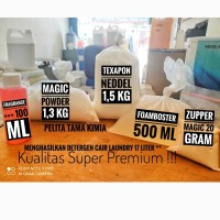 Paket Bahan Baku Detergen cair laundry 17 L ( Super Premium ) TERMURAH