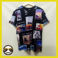 Baju Kaos Pria Distro Bangkok Printing Import Thailand Tropical Dream - M