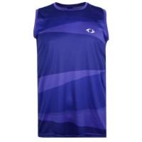 Astec Accord Men's Sleeveless Shirt - Blue Size L